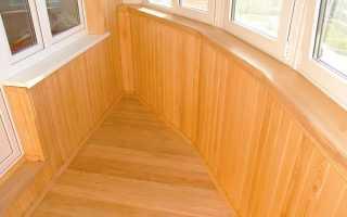 Как покрасить вагонку на балконе?