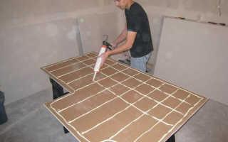 Чем приклеить ПВХ панели к бетонной стене?