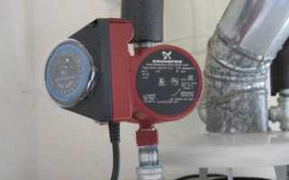 Как запустить водяной насос отопления?