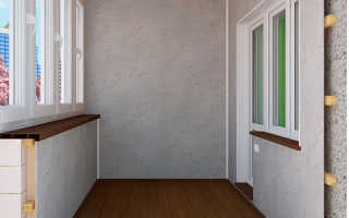 Чем лучше отделать балкон внутри: выбираем материалы