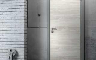 Отделка дверей панелями МДФ в деталях