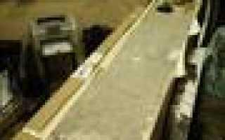Как прикрепить столешницу к подоконнику