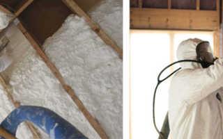 Преимущества, недостатки и сфера применения напыляемой теплоизоляции