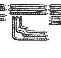 Изделия для монтажа троссовых проводок