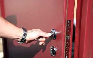 Как ставить входные металлические двери?